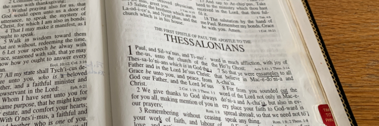 Book of the month 1-2 Thessalonians  nr.1